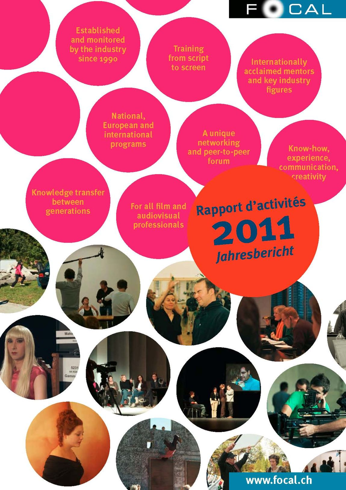 Jahresbericht Rapport Dactivite 2011