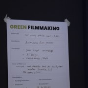 Green Filmmaking — Locarno, 10.8.2019